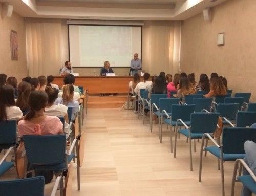 Conferencia en Zalima al alumnado de Infantil e Integración Social