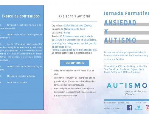 Jornada formativa: Ansiedad y Autismo