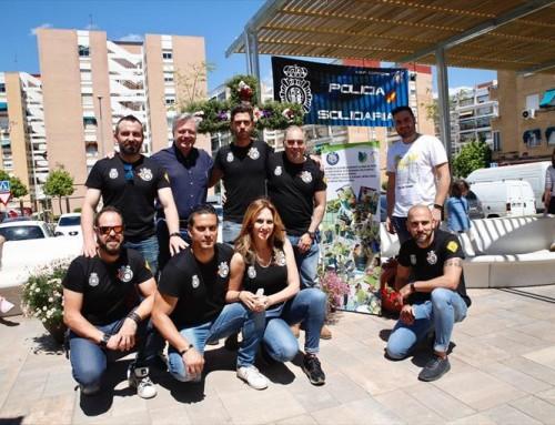 Cruz de Mayo «Policia Solidaria»