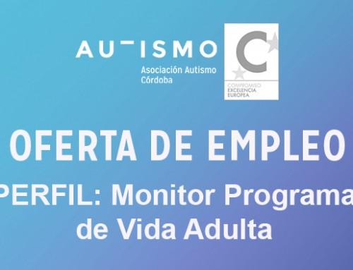 OFERTA EMPLEO: perfil monitor programa vida adulta